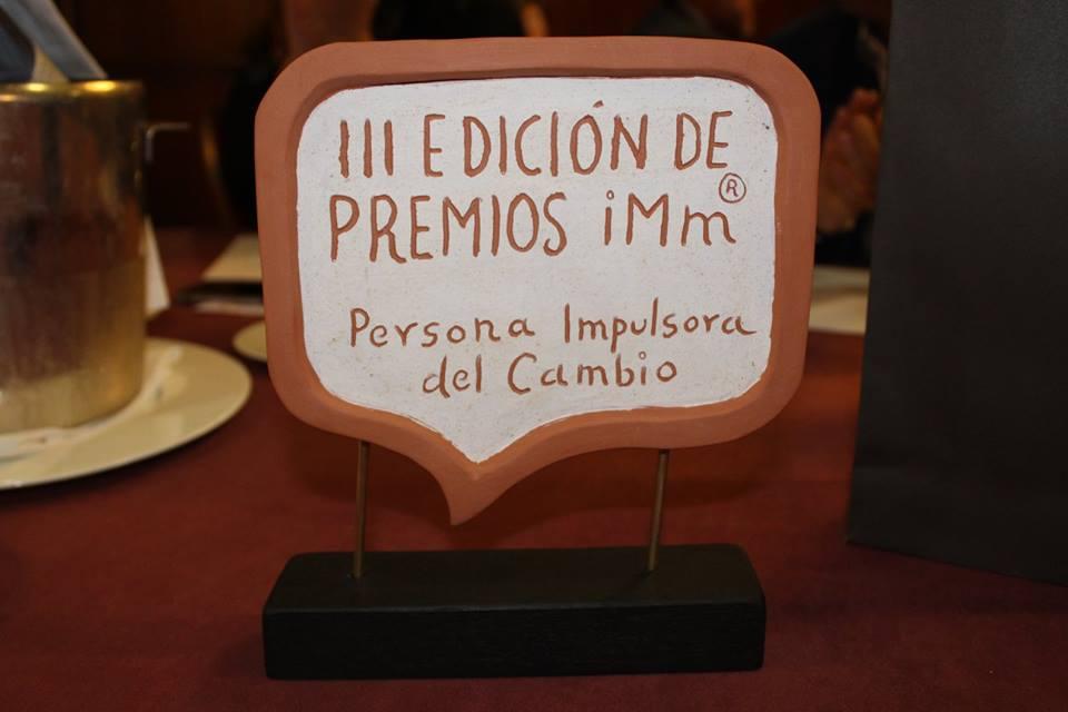 Premio Persona Impulsora del Cambio